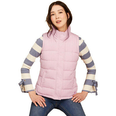 Joules Womens/Ladies Z Eastleigh Padded Warm Quilted Bodywarmer Gilet