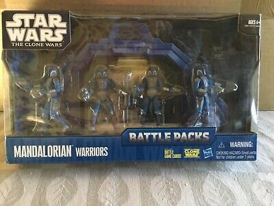 New Star Wars The Clone Wars Mandalorian Warriors Battle Packs!!