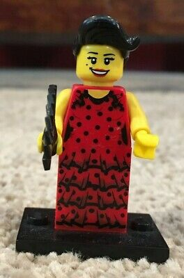 Series 6 Sealed Pack! #06 Flamenco Dancer LEGO Collectible MiniFigure