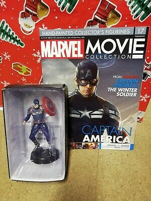 Marvel Movie Collection Issue 17 Captain America  Eaglemoss Figurine Figure