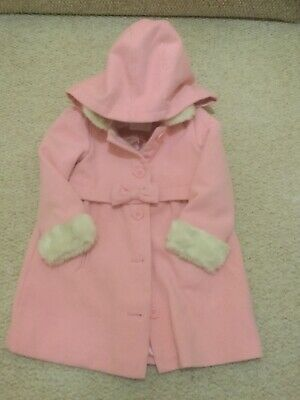 Matalan age 4-5 years girls gorgeous pink coat - Offers Accepted