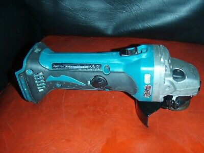"Makita DGA452, Cordless Angle Grinder 18v, blade 115mm 4.5"". unit only."