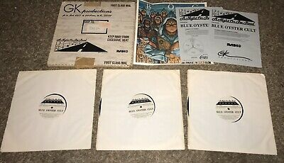 BLUE OYSTER CULT 1981 3 LP A Night On The Road GK Productions Radio ABC Program