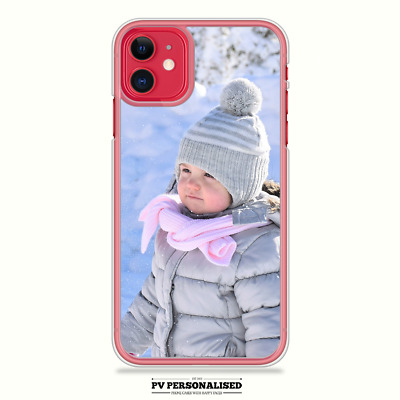Personalised Your Photo Plastic Phone Case Cover For Apple Iphone 7 8 Plus Xr 11