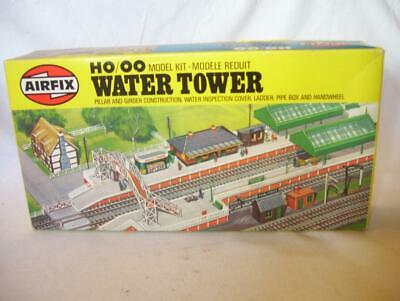 Airfix Railway Water Tower Building Model Kit In Original Box Oo Gauge Ho