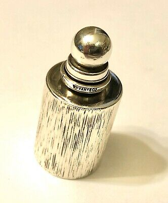 Rare Antique Vintage Miniature Tiffany Perfume Snuff Bottle Sterling Silver1920s