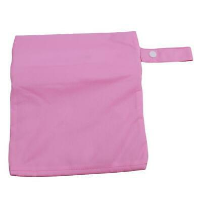 New Waterproof Zip Wet Dry Bag for Baby Infant Cloth Diaper Nappy Pouch JAZZ
