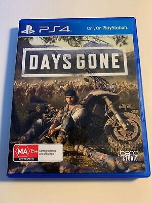 Days Gone, Playstation 4, PS4 game,  Used