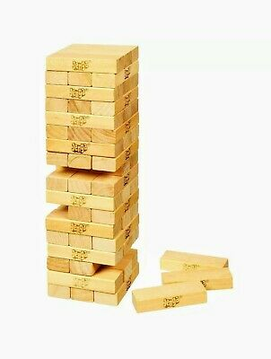Jenga Classic Game By Hasbro Stacking Wooden Tower Blocks Family Time  FUN Party