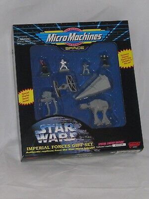 Vintage 1994 Star Wars Imperial Forces Micro Machines Gift Set Galoob