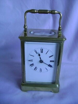 Antique Henri Jacot Timepiece Carriage Clock (New Platform) & Serviced In Gwo