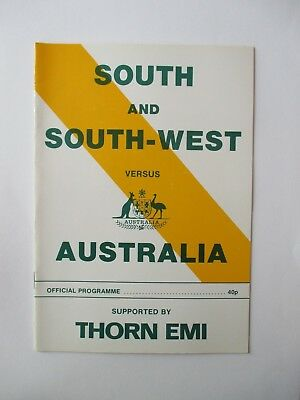 South And South West V Australia 1981