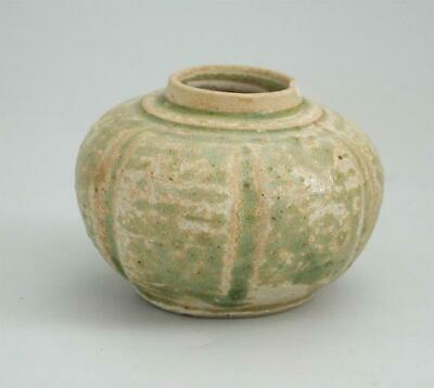 Rare Chinese / Vietnamese / South East Asian 13th/14th Century Stoneware Jarlet