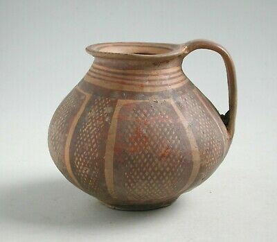 Chinese Neolithic Painted Pottery Jar (Machang c. 2300 - 2000 BC)