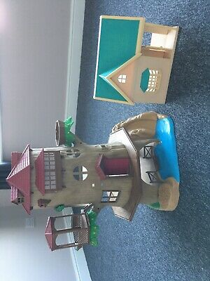 Sylvanian House And Treehouse