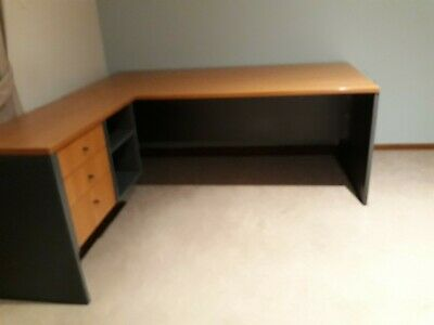 Executive Office Desk With Return And Chair
