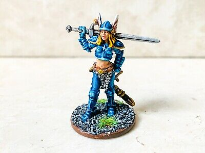 Zombicide Black Plague PERSEPHONE painted Carl Critchlow guest CMoN + ID card