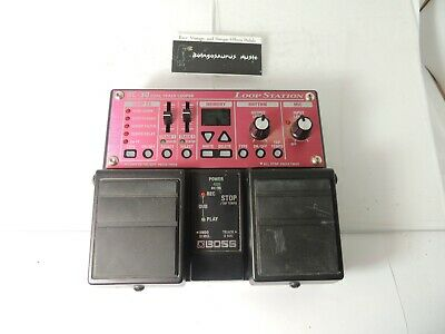Boss RC-30 Loop Station Looper Sampler Effects Pedal Phrase Sampler