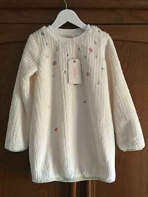 Billieblush designer girls jewelled jumper dress size 8yrs BNWT Christmas/Winter