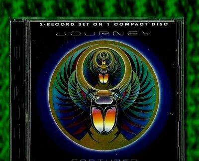 JOURNEY - CAPTURED 2-Record Set On 1 CD ALBUM(1996)48661 2 (Reissue/Remastered)