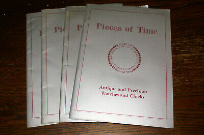 Five Antique...watches And Clock Catalogues Pieces Of Time Nos 11, 12, 13, 30 60