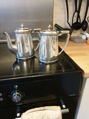 Vintage Mappin & Webb Silver Plated Tea & Coffee Pot