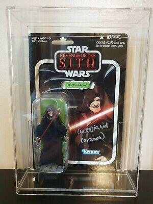 Star Wars Vintage Collection Figure VC12 Darth Sidious Signed By Ian Mcdiarmid