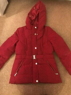 Zara Girls Navy Padded Jacket Age 11-12 Years