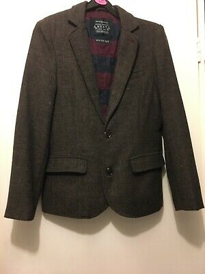 Girls Next Tweed Jacket Age 12 Perfect