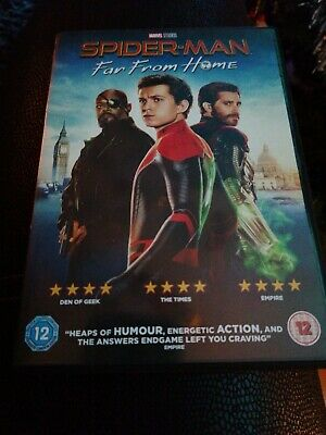 Spiderman Far From Home DVD Watched Once