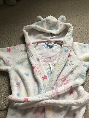 Girls M And S Dressing Gown Age 4-5. Tatty Teddy, Me To You.