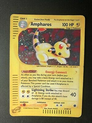 Pokemon Ampharos 2/165 Expedition Holo - ENG - Excellent Condition