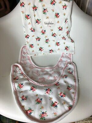 Baby Boden X2 Girls Baby Bibs Floral Toys With Bag