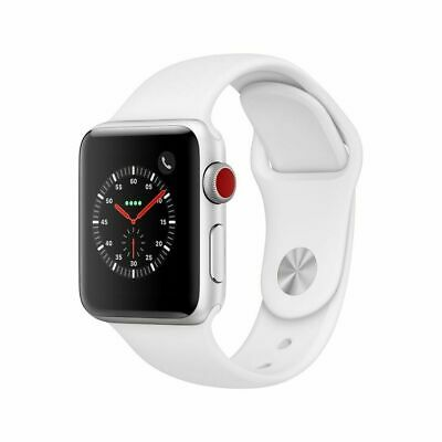Apple Watch Series 3 (GPS + Cellular) | 38mm | Silver Aluminum Case | Brand New