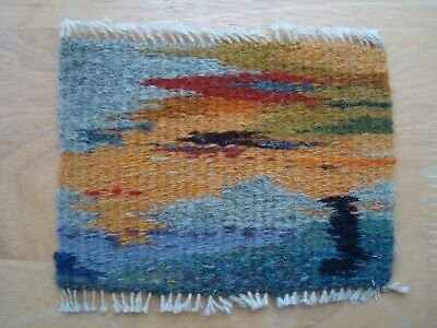 Dolls House Miniature Small Woven Tapestry Country Scene tapns01
