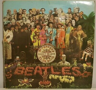 Beatles - Sgt Peppers Lonely Hearts Club Band Vinyl Record LP