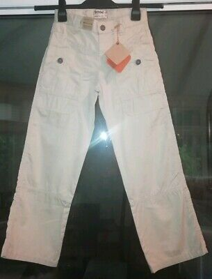 Boys Timberland Cargo Style Trousers Age 8 Bnwt's Adjustable waistband