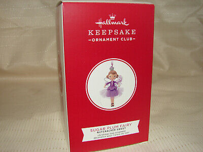 Hallmark Keepsake Ornament -2019- KOC- 1st in series- Sugar Plum Fairy