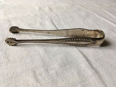 Antique French Silver Sugar Tongs