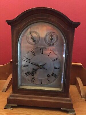 Antique Winterhalder & Hofmeier W&H Twin Fusee Ting Chiming Tang Bracket Clock