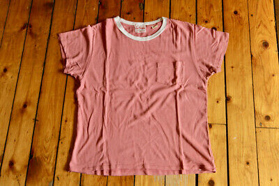 Lvc Levi's Vintage Fashion California Salmon Ringer T-Shirt Small