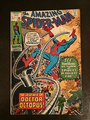 """Amazing Spider-Man #88 Sept 1970 """"The Arms Of Doctor Octopus!"""" Silver Age..."""