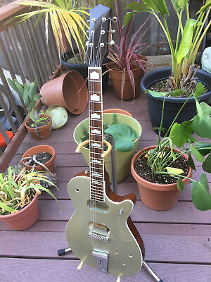 Gretsch Jet 5439T Electromatic Silver Sparkle luthier project.