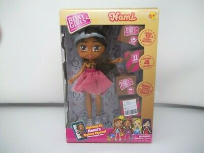 Boxy Girls NOMI Fashion Girl Doll 4 Blind Surprise Boxes NEW