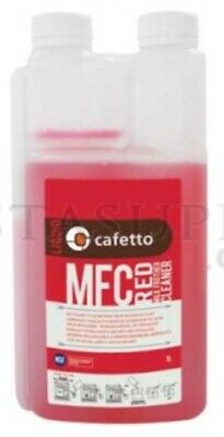 Milk Frother Cleaner Red 1 Litre Cafetto Weekly