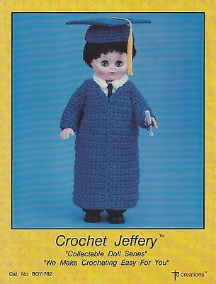 """Football Thomas 13/"""" Doll Outfit by TD Crochet Pattern//Instructions Leaflet"""