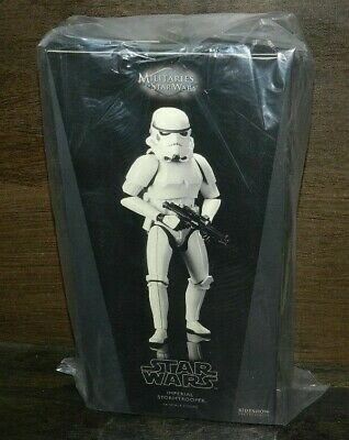 Star Wars Sideshow Stormtrooper Imperial 1/6 Scale New Gem Clean Box Great Gift
