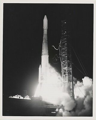 Delta NASA GODDARD Photo Symphonie French West Germany Satellite Launch G75-2327