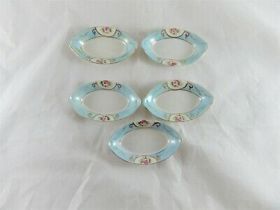 Antique Noritake Butter Pats Dish Set of 5
