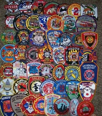 """*CLEARANCE*  Set # 32 - 50 Total Fire Patch Set  """"NO DUPLICATES IN SET"""""""